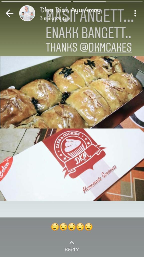 testimoni DKM Cakes